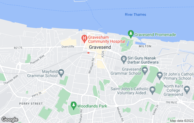 Map for Orange Property Services, Gravesend - Sales
