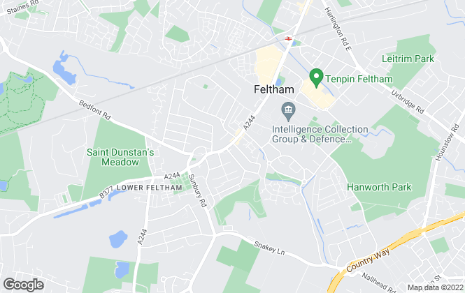 Map for Barnard Marcus, Feltham