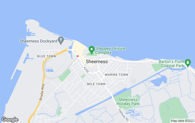 Map for Your Move , Sheerness