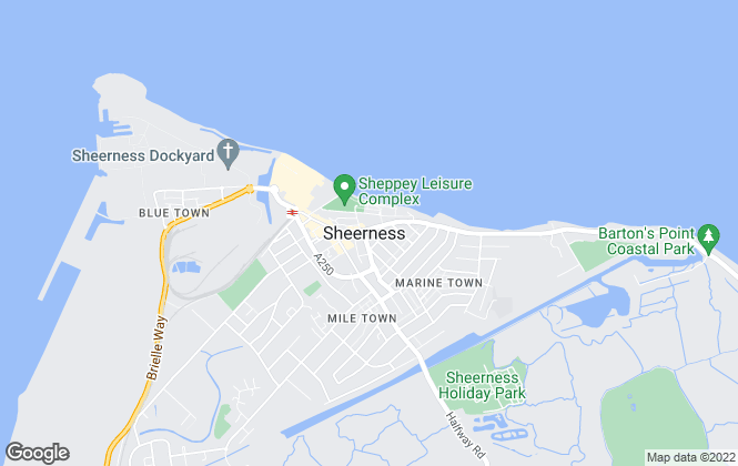 Map for Your Move, Sheerness