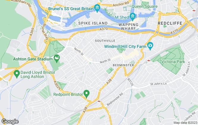 Map for Lets Rent Bristol Ltd, Bristol