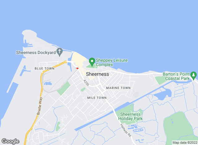 Map for Rule & Rule Estate Agents, Sheerness Lettings