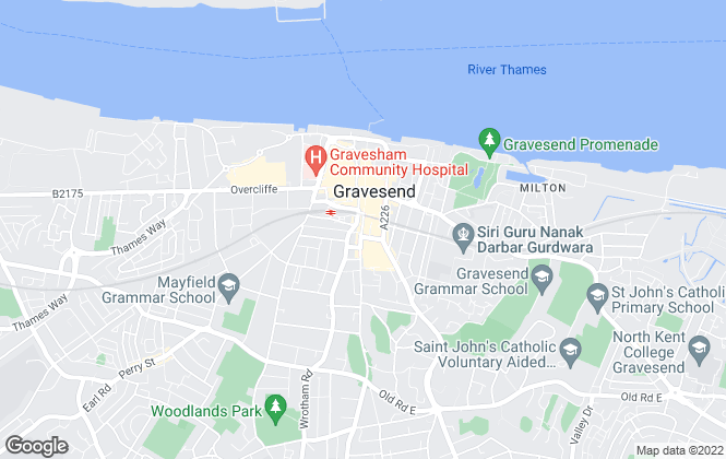 Map for Walker Jarvis Estate Agents and Chartered Surveyors , Gravesend