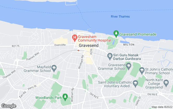 Map for Walker Croft, Gravesend