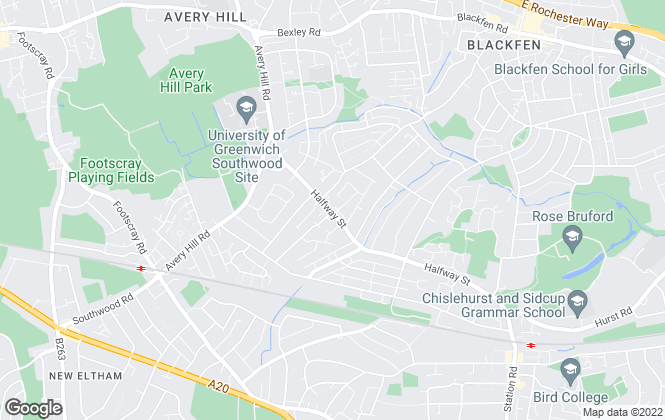 Map for Capital Estate Agents, Sidcup