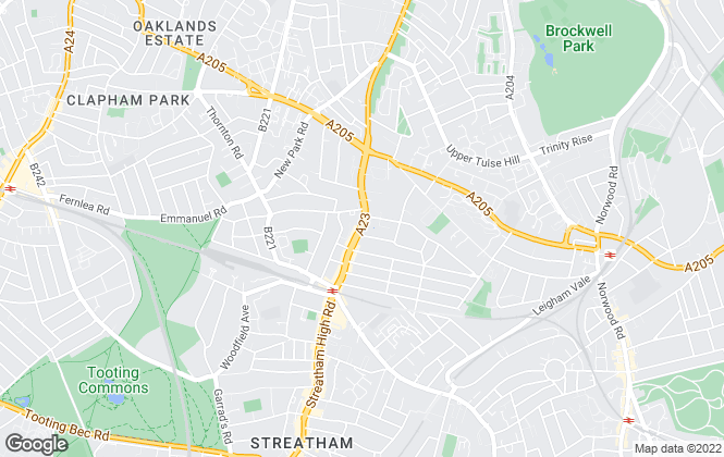 Map for Taylor Gray Estates, South London