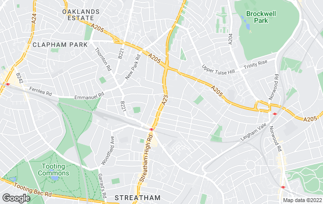 Map for Winkworth, Streatham