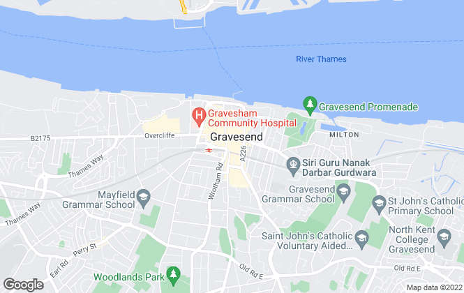 Map for Your Move , Gravesend