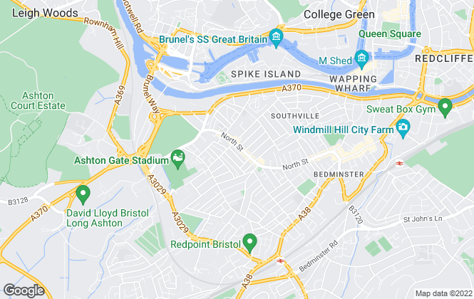 Map for Ocean, Southville