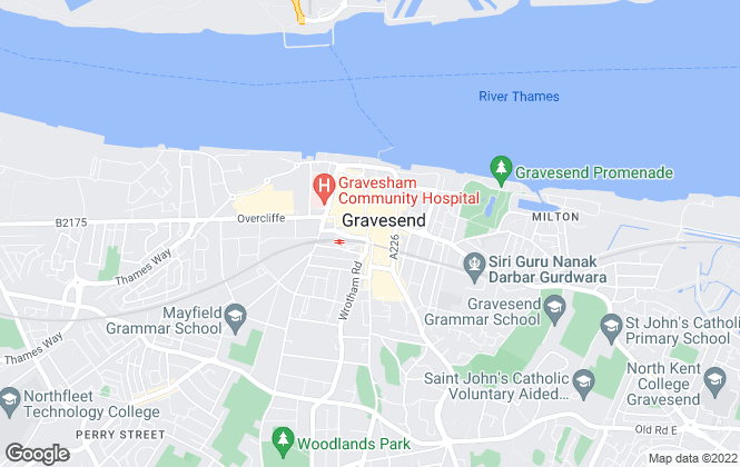 Map for M & M Property Services, Gravesend