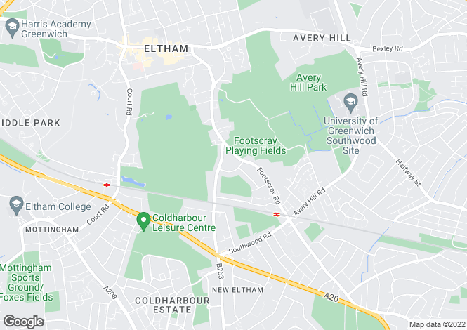 Map for Cambridge Green,