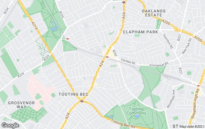 Map for John Dean, London