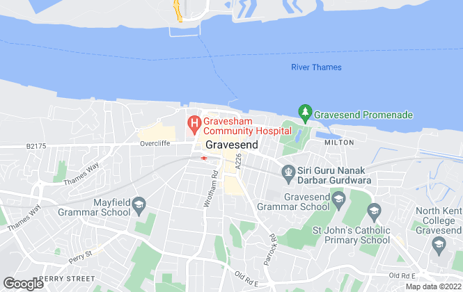 Map for Pro-Estates, Gravesend