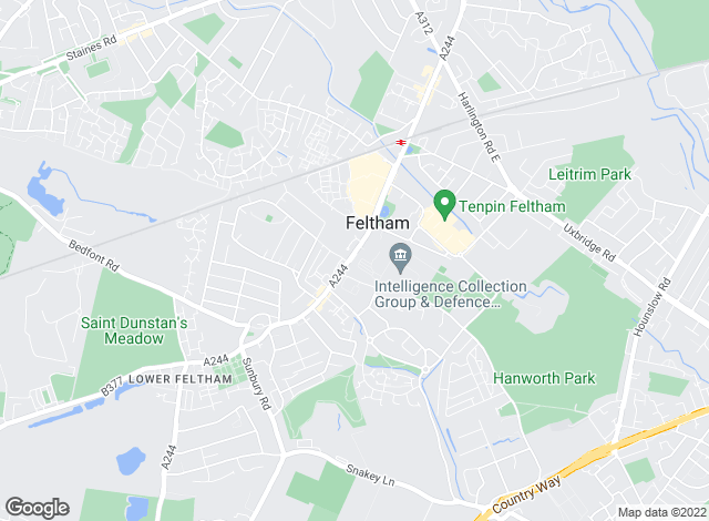 Map for Forest Estate Agents, Feltham