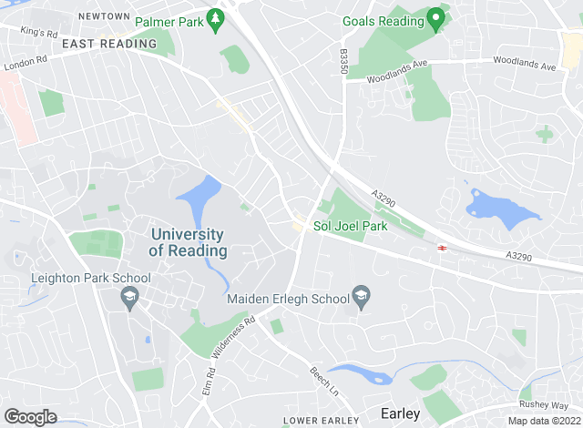 Map for Whiteknights Estate Agents, Earley