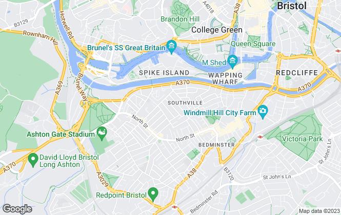 Map for Urban Lighthouse LTD, Bristol