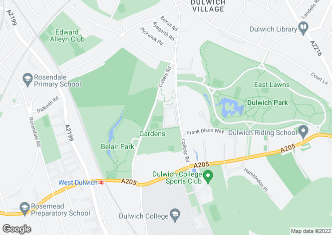 Map for College Gardens London SE21