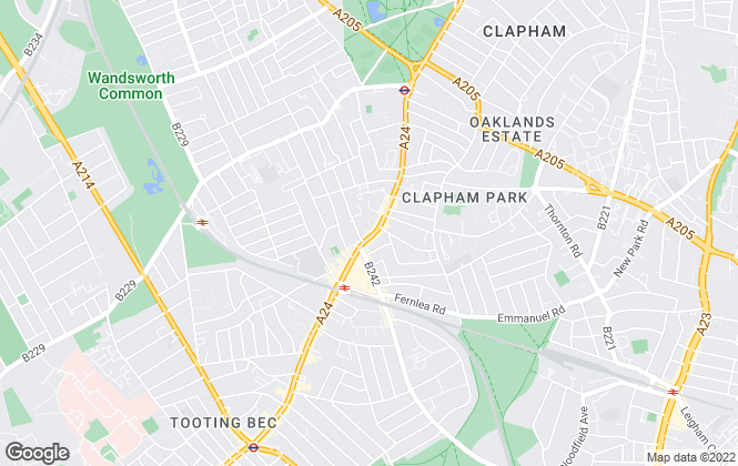 Map for Kinleigh Folkard & Hayward - Sales, Balham