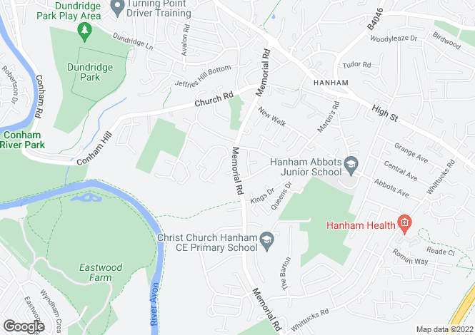 Map for Memorial Road,