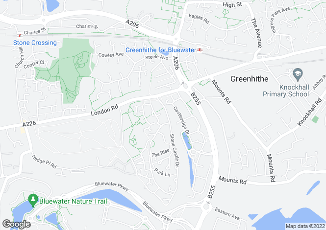 Map for Sanderling Way, Waterstone Park, Greenhithe