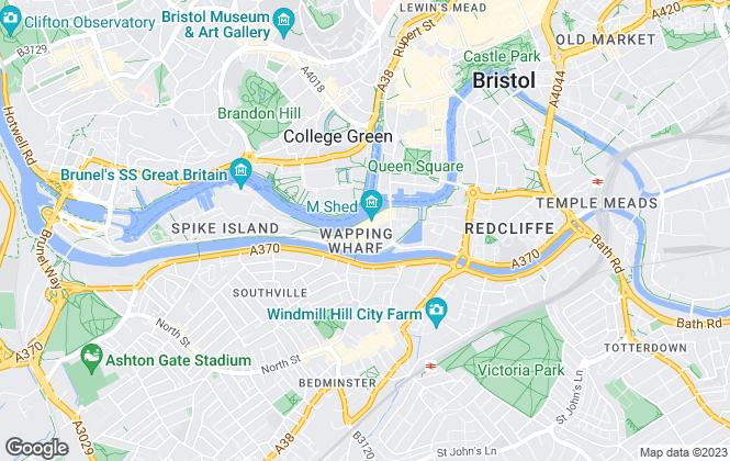 Map for NEXA Bristol, Bristol