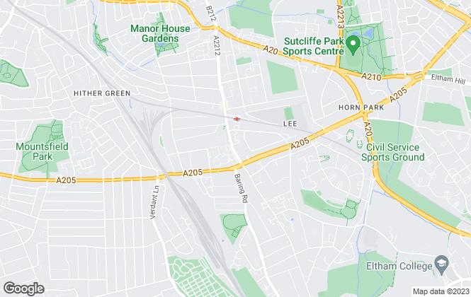 Map for Avon Property, London