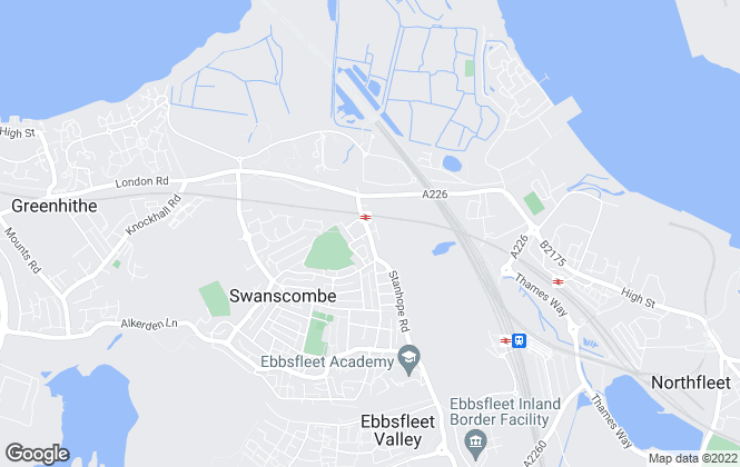 Map for Anthony Martin Estate Agents, Greenhithe & Swanscombe - Resale