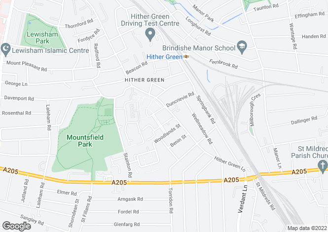 Map for Rosse Gardens, Desvignes Drive, London, SE13