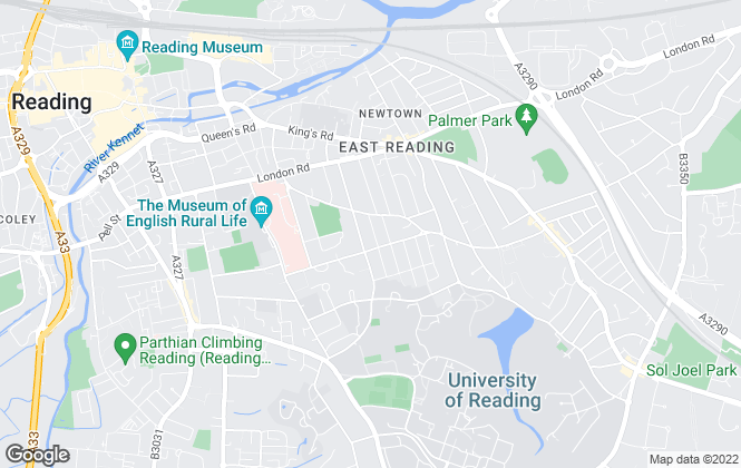 Map for The Flatman Partnership, Reading