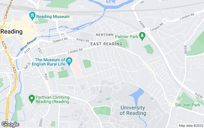 Map for Westgate, Reading