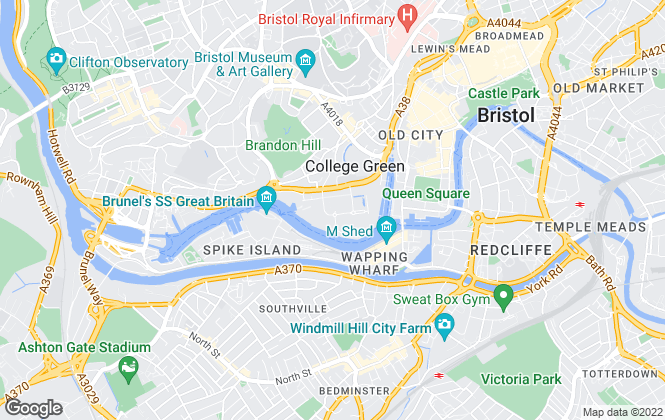 Map for Chappell & Matthews Lettings, Bristol Harbourside