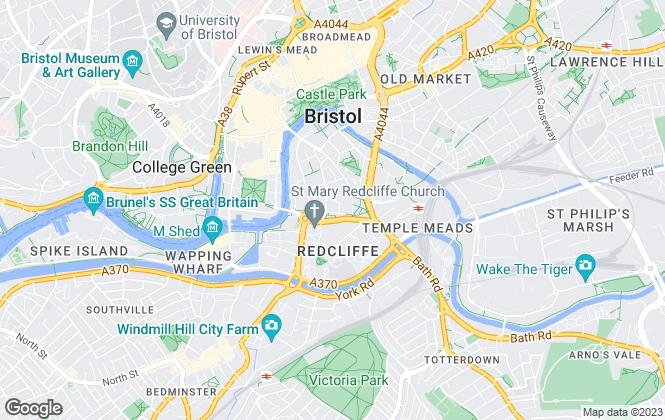 Map for BNP Paribas Real Estate, Bristol