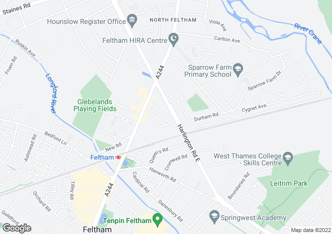 Map for Park Way,
