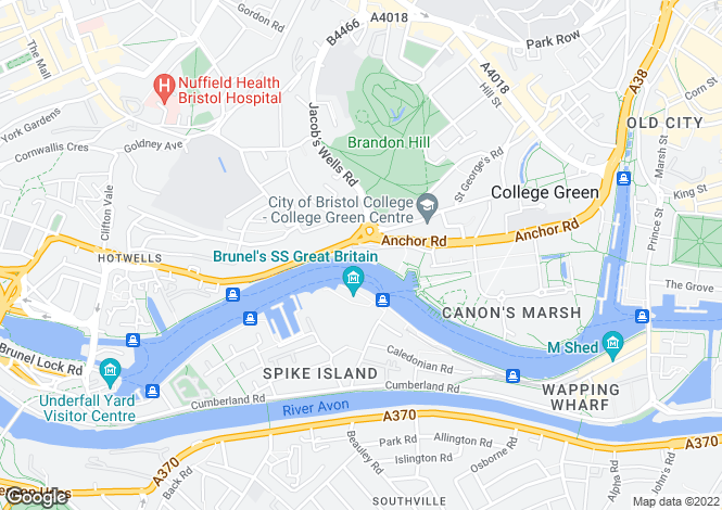Map for Capricorn Place, Lime Kiln Road, BRISTOL, BS8 4SX