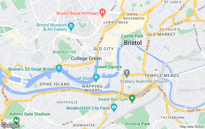 Map for Hopewell Properties Limited, Bristol