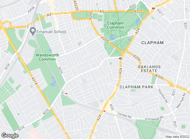 Map for Savills Lettings, Clapham