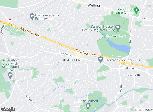 Map for Westwood Property Services, Sidcup - Lettings