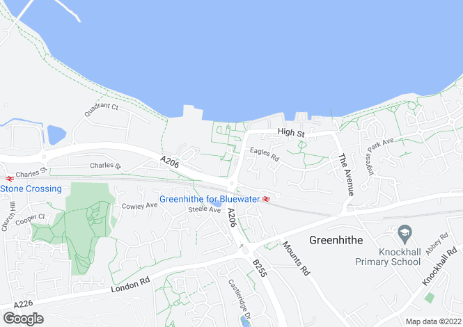Map for Marston Court, Greenhithe