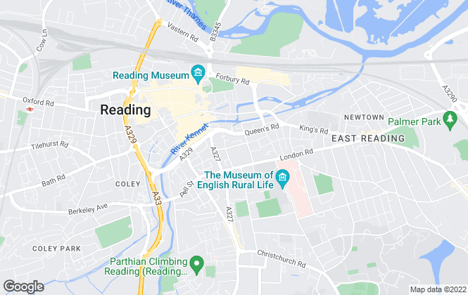 Map for Dunster & Morton, Reading