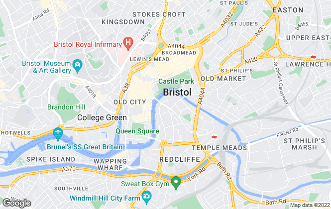 Map for Bristol Lettings Limited, Bristol