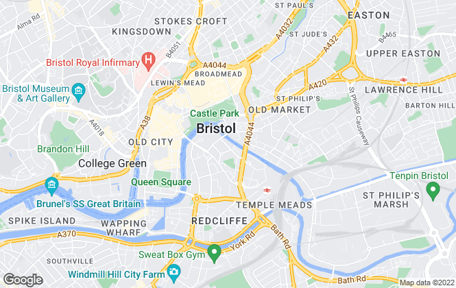 Map for Colliers International (Hotels), Bristol