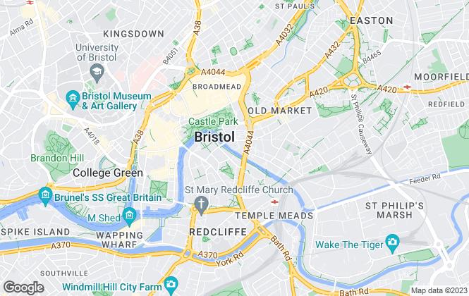 Map for Lambert Smith Hampton, Bristol