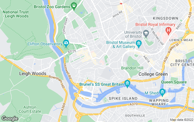 Map for Sarah Clark Property Consultants, Bristol