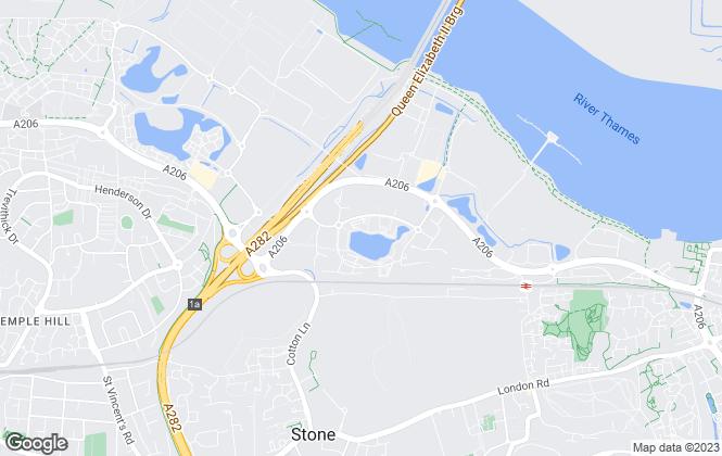 Map for Riverside, Riverside South & Central