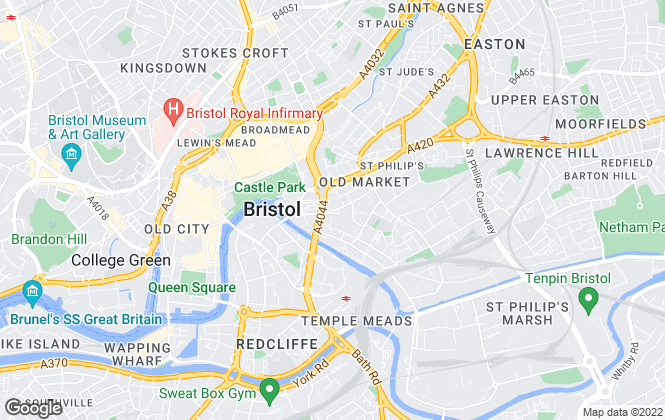 Map for Rentalist, Bristol