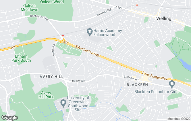 Map for Cloud9, Bexley