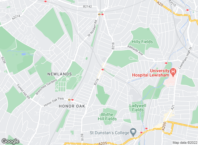Map for Rocodells Estate Agents, Crofton Park