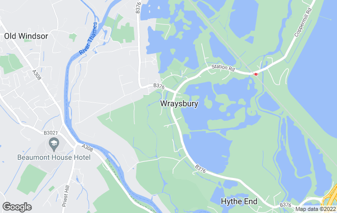 Map for B. S. Bennett, Wraysbury