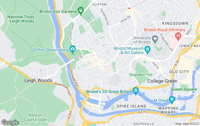Map for Sarah Kenny Residential Lettings, Bristol
