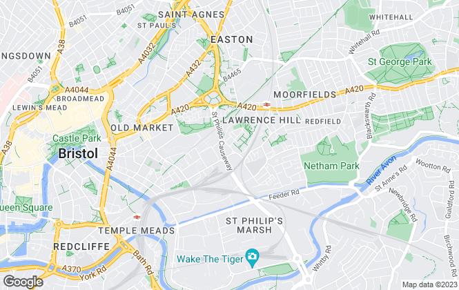 Map for Big Yellow Self Storage Co Ltd, Big Yellow Bristol Central